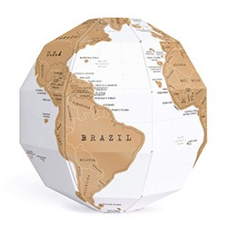 Best Gift Ideas For Brother Scratch Globe