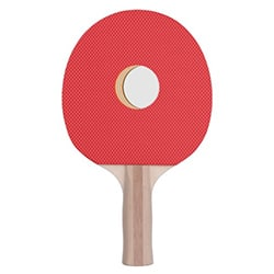 Gift Ideas For Brother Fake Hole Ping Pong Paddle