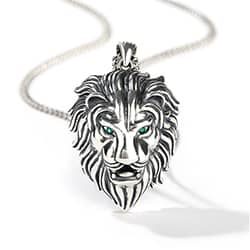 Gift Ideas For Brother lion Pendant Necklace