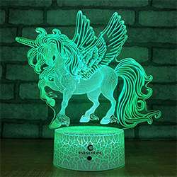 Gifts For 2 Year Old Girls 3D Night Light