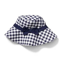 Toys For 2 Year Old Girls Bow Gingham Bucket Hat