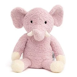 Toys For 2 Year Old Girls Organic Purple Plush Elephant