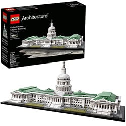 Best Lego Sets For Adults United States Capitol Building