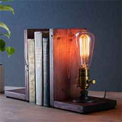 Birthday Gift Ideas For Husband Bookend Lamp