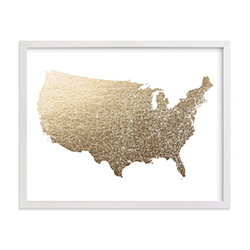 Birthday Gift Ideas For Your Husband Foil Map