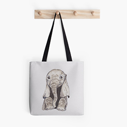 Elephant Gifts Tote bag