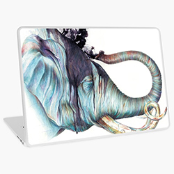 Gifts For Elephant Lovers Laptop Skin