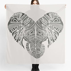 Gifts For Elephant Lovers Scarf