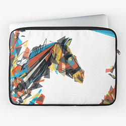 Gifts For Horse Lovers Laptop Sleeve