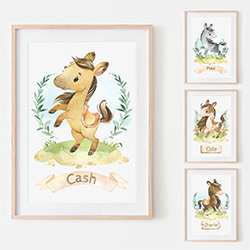 Gifts For Horse Lovers Nursery Prints