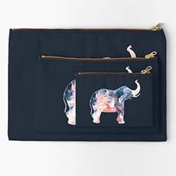 Gifts With Elephants Zipper Pouch
