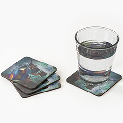 Horse Themed Gifts Abstract Coasters