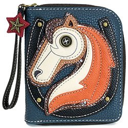 Horse Themed Gifts Leather Wallet