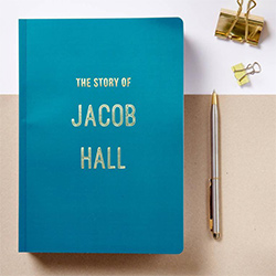 Blue Gift Ideas Notebook