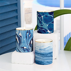Blue Themed Gifts Candles