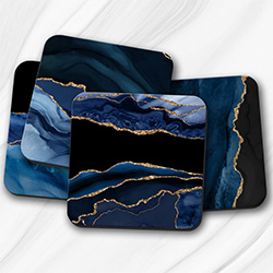 Cool Blue Gifts Coasters