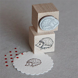 Creative Hedgehog Themed Gifts Stamp