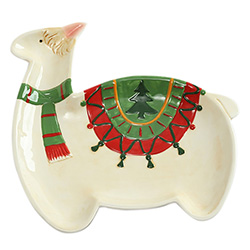 Fun Gifts For Llama Lovers Christmas Platter