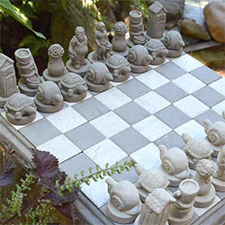 Gifts For Male Gardeners Chess Set