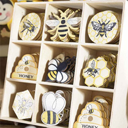 Amazing Bee Gifts Adhesive Tags