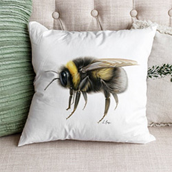 Amazing Bee Gifts Throw Pillow