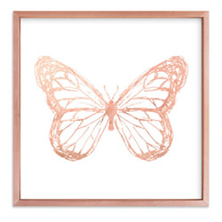 Amazing Butterfly Presents Wall Art