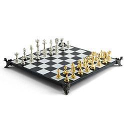 Cool Chess Sets Antique Opulence