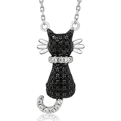 Cool Kitten Pendant Couture Cat