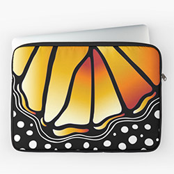Gifts For Butterfly Lovers Laptop Sleeve