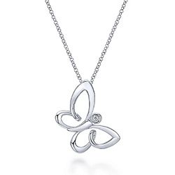 Gifts For Butterfly Lovers Necklace