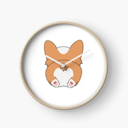Gifts For Corgi Lovers Clock